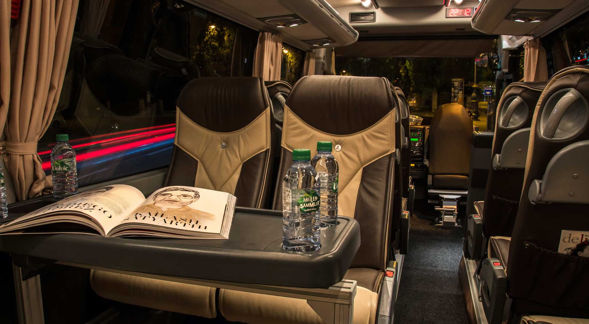 Travel in Luxury with STM Bus & Limousine Service Team